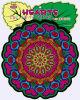Cartel borroso creativo de los cabritos DIY DIY Pascua/carteles negros al por mayor del colorante del terciopelo