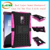 Doppelschicht-Rüstungs-Shockproof Kasten für ein Plus2 mit Standplatz