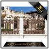 Giardino esterno decorativo della villa che recinta la rete fissa di alluminio rivestita della polvere