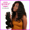 Cheveux humains péruviens de la pente 8A humides et armure ondulée de corps, cheveu ondulé péruvien humain de 100%