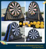 Hot Inflatable Dart Board Gmae, Inflável Football Dart Game