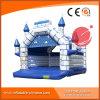 Reizendes Drucken Camelot blaues aufblasbares springendes Schloss T2-003