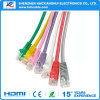 Câble réseau Ethernet coloré CAT6 Patch RJ45