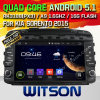 Coche DVD del androide 5.1 de Witson para KIA Sorento 2015-2016 (W2-A7021) con el soporte del Internet DVR de la ROM WiFi 3G del chipset 1080P 8g