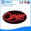 Oval de Hidly o sinal aberto do diodo emissor de luz de Europa