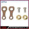 Piezas del bastidor de la aleación de aluminio del metal de la precisión de la aduana que trabajan a máquina