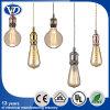Conjunto de la lámpara pendiente del sostenedor de la lámpara del metal de E26 E27