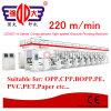Stampatrice ad alta velocità automatizzata serie di incisione della pellicola di Qdasy-a BOPP