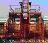 Alzamiento de la construcción Sc200/200 y plataforma aprobados Ce de la elevación del edificio