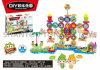 Bloc en plastique populaire de rotation de report de puzzle de jouet pour des gosses