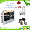 Moniteur de patient modulaire Sun-M700k à écran tactile de 15 pouces pour hôpital