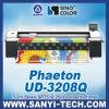 Plotter de solvente Pheaton Ud-3208q com cabeças Spt510 para exterior