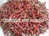 Pimentões vermelhos desidratados