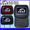 Exhibición de pantalla de monitor del apoyo para la cabeza TFT LCD del monitor del coche, 2 entradas audias/video (H705AV)
