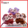 Jouet de peluche de singe de 3 de couleurs de mariage couples de cadeau