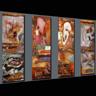 Pintura al óleo abstracta (01)