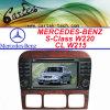 벤즈 S 종류 W220/CL 종류 W215를 위한 특별한 차 DVD
