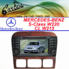 Coche especial DVD para la S-Clase W220/Cl-Clase W215 de Mercedes-Benz