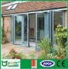 Portello di piegatura scorrevole di vetro di alluminio standard dell'Australia