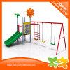 Миниые напольные скольжение спортивной площадки и оборудование качания для детей