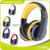 Auscultadores sem fio estereofónico material dos auriculares de Bluetooth do ABS colorido dos esportes