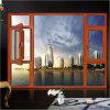 Het houten Openslaand raam van het Frame van het Aluminium van de Kleur met Klamboe