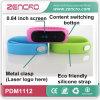 Bracelet intelligent de Bluetooth de forme physique de Bluetooth de bracelet d'écran intelligent en gros de la qualité OLED