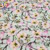 Garment Dress (GLLML195)のための綿Polyester Spandex Satin Printed Fabric