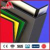 La publicité du panneau composé en aluminium matériel de couleur pleine de décoration de panneau