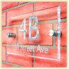 Comunità Engraved Acrylic Sign/Address Board per la Parete-Mounting