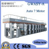 Stampatrice ad alta velocità automatizzata di rotocalco (Rewind e si svolge all'esterno)