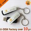 Disco de encargo del USB de Fullcolorlogo con el Keyring (YT-1118L2)