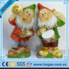 Figurine de jardin de Polyresin de Noël belle pour la décoration