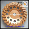 Diamante Spiral Cup Wheels para Concrete Polishing