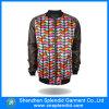 Revestimento do Sublimation da forma do homem da fábrica 2016 da roupa com luva de couro