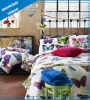 Butterly Polyester Print Bedding Quilt (set)