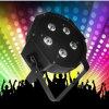 DMX512 소리 통제 5X10W RGBA LED 클럽 빛