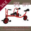 L'esprit multijoueur de travail d'équipe d'équilibre de trois roues badine la bicyclette (J1503-9)