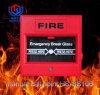 Tasto di vetro HS-Sb106 del segnalatore d'incendio di incendio di chiamata del sistema di segnalatore d'incendio di incendio di CC 24V della rottura manuale del punto