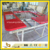 Wholesale Prefab Red Quartz Kitchen Countertops