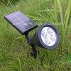 LED-Scheinwerfer-Garten-im Freien Pfad-Park-Sonnenenergie-Rasen-Lampe