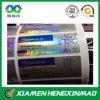 Falsificación anti de la impresión de encargo/etiqueta engomada vacía de la cáscara/del pisón para el empaquetado farmacéutico