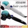 Goccia che spedice cura di capelli automatica dello spruzzo del vapore del bigodino di capelli che designa i capelli magici Styler del ferro di arricciatura dell'onda degli strumenti del rullo di ceramica dei capelli