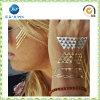 La vendita calda tatuaa l'autoadesivo metallico del tatuaggio dell'argento dell'oro (JP-TS004)