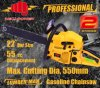 セリウムのCertifiedの庭Tools 55cc Easy Start Professional Chainsaw (CS-5800)