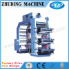 6 색깔 Flexographic Printing Machine 800mm
