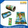 Pellicola di rullo del materiale da imballaggio della plastica del gelato di BOPP/VMCPP e sacchetto del Popsicle