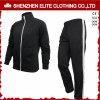 Sportswear preto personalizado alta qualidade do fato de desporto (ELTTI-1)