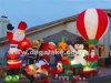 DEL allumant le monde gonflable de Noël d'éclairage de Noël du monde gonflable de dessin animé