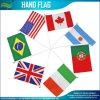 Bandeiras feitas sob encomenda da onda da mão do poliéster (B-NF01F02017)